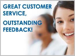 Great cuatoemr service - outstanding feedback