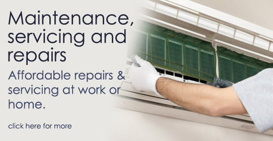 Air Conditioning maintenance and servicing.