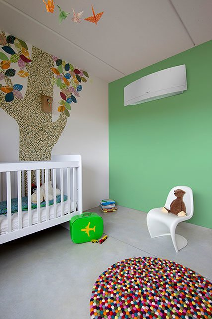 air conditioning in childs room
